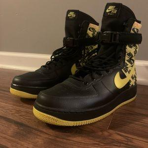 """Nike sf af1 """"dynamic yellow"""""""